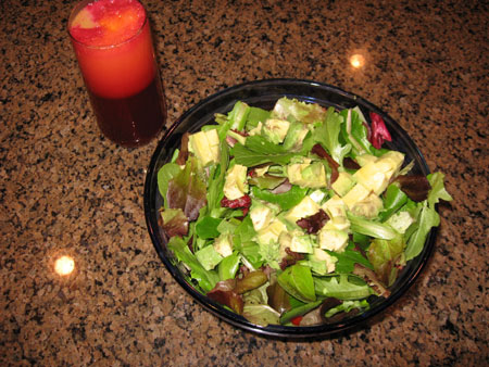 Raw food diet day 14 lunch