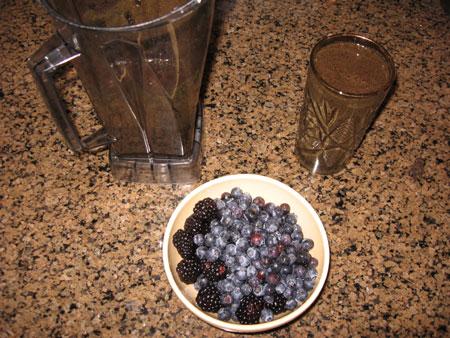 Raw food diet day 15 breakfast