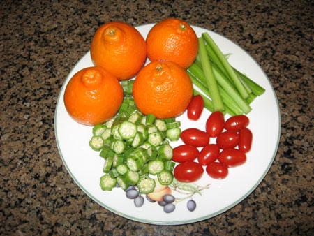 Raw food diet day 16 dinner