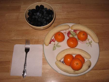 Raw food diet day 2 breakfast
