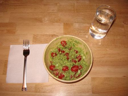 Raw food diet day 2 dinner