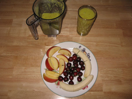 Raw food diet day 2 lunch