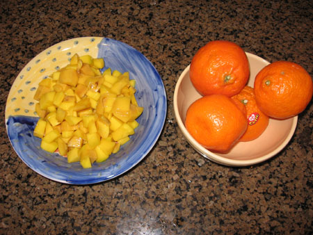 Raw food diet day 20 lunch