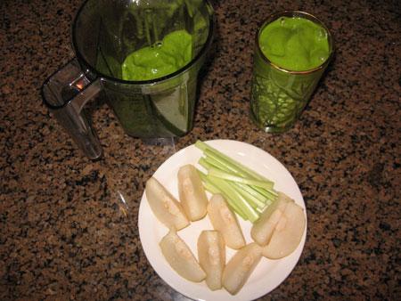 Raw food diet day 24 dinner