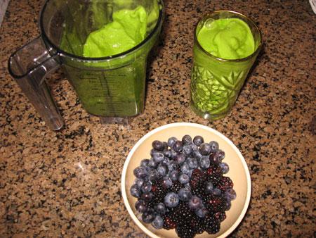 Raw food diet day 27 dinner