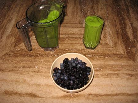 Raw food diet day 28 breakfast