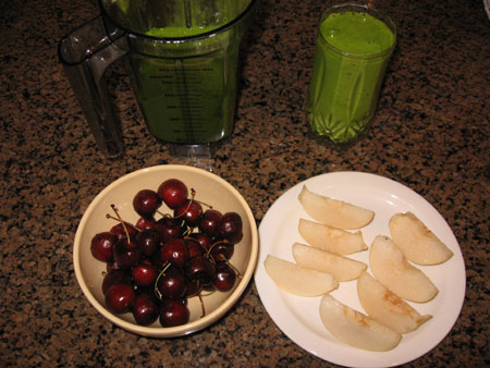 Raw food diet day 28 dinner