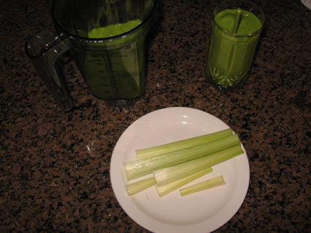 Raw food diet day 29 breakfast