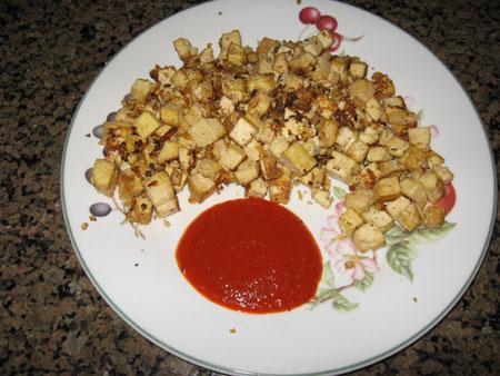 Raw food diet day 31 breakfast