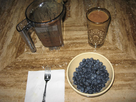 Raw food diet day 4 breakfast