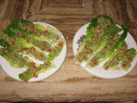Raw food diet day 4 lunch